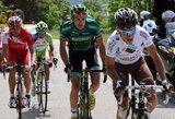 M.Maniušis, M.Bernatonis ir E.Juodvalkis startavo dviračių lenktynėse Belgijoje