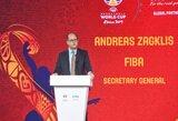 FIBA generalinis sekretorius A.Zagklis yra atviras pokalbiams su Eurolygos atstovais