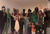 T.Walkupas įvertino savo bei komandos draugų kostiumus Helovino vakarėlyje