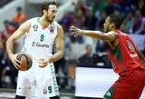 NBA klubų dėmesio nesulaukęs S.Erdenas lieka Turkijoje