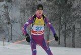Pasaulio jaunių biatlono čempionato starte G.Leščinskaitė užėmė 15-ą vietą (vaikinai tarp autsaiderių)