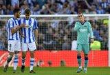 """A.Griezmanno ir L.Suarezo įvarčiai neišgelbėjo: """"Barcelona"""" prarado taškus Ispanijoje"""