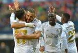 """""""Real"""" puolėjas K.Benzema pagerino C.Ronaldo rekordą"""