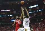 "J.Hardeno vedama ""Rockets"" sutriuškino ""Jazz"""