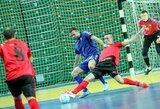 Antrajame Futsal A lygos ture – pratęstos pergalių serijos bei kovingos lygiosios