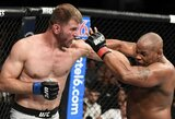 Tris raundus puikiai kovęsis D.Cormier neatlaikė puikių S.Miočičiaus smūgių į kūną: UFC turi naują-seną sunkiasvorių čempioną!