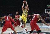 """""""Darussafaka"""" pusfinalyje nesukėlė problemų """"Fenerbahce"""" klubui"""