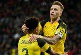 """""""Borussia"""" panaikino dviejų įvarčių deficitą ir išplėšė dramatišką pergalę"""