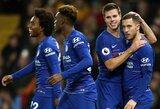 """E.Hazardo dublis padovanojo """"Chelsea"""" pergalę prieš """"Watford"""""""