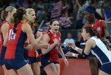 Olimpiniame tinklinio turnyre – amerikiečių revanšas prieš braziles