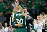 A.White'as po laimėto LKL finalo kalbėjo apie NBA