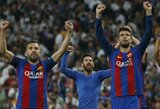 """""""Barcelona"""" stojo į šaltąjį karą prieš """"Real"""". Kur dingo klubo akademijos auklėtiniai?"""