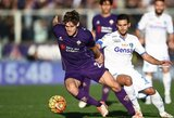 """Fiorentina"" neišlaikė vienvaldės ""Serie A"" lyderės pozicijos"