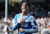"""Į """"Chelsea"""" išvykstantis M.Batshuayi atsisveikino su """"Marseille"""" klubu"""