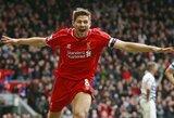 """S.Gerrardas jau mąsto apie Čempionų lygos finalą: """"Liverpool"""" gali nuskriausti """"Real"""""""