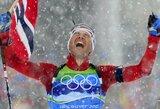 Biatlono karalius O.E.Bjoerndalenas paskelbė apie karjeros pabaigą