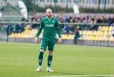 """D.Galkevičius: """"Būna momentų, kai sunku patikėti, jog futbolininko karjera jau praeitis"""""""