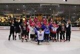 Vilniuje surengta merginų ledo ritulio diena
