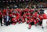 Istorinis triumfas: Lietuvos ledo ritulio rinktinė – pasaulio IB diviziono čempionė!