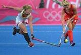 Šeimininkės tęsia galingą pasirodymą olimpiniame žolės riedulio turnyre