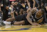 Dėl K.Leonardą sutraumavusio Z.Pachulia NBA koreguos teisėjavimo taisykles