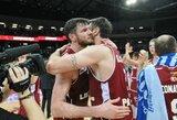 Broliai Lavrinovičiai ir kitą sezoną džiugins krepšinio gerbėjus