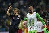 FIFA perspėjo žuvusio draugo atminimui marškinėlius vilkintį D.Subašičių