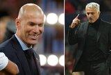 """Sunki """"Real"""" situacija: futbolininkai prašo sugrįžti Z.Zidane'ą, F.Perezas dairosi į J.Mourinho"""