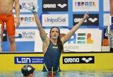 """R.Meilutytės """"sostą"""" Europos plaukimo čempionate užėmė suomė (+ kiti rezultatai)"""