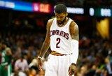"""Ar """"Cavaliers"""" komanda gali išlošti iš K.Irvingo mainų?"""