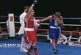 396-1: kodėl vienintelis V.Lomačenką mėgėjų ringe nugalėjęs boksininkas netapo profesionalu?