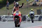 M.Marquezo kritimu pasinaudojęs D.Pedrosa pirmas pradės Katalonijos GP lenktynes