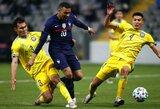 Kibirkštys Prancūzijos rinktinėje: A.Martialis nepadavė rankos K.Mbappe