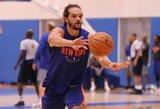 """J.Noah kurį laiką uždrausta artintis prie """"Knicks"""" komandos"""