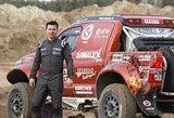 """A.Juknevičius įgūdžius tobulino pasaulio """"Cross Country Rally"""" čempionato trasose"""