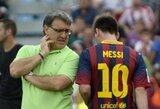 """G.Martino: """"L.Messi netrukus vėl pradės mušti įvarčius"""""""