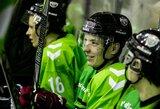 """D.Kumeliauskas nukalė """"Kaunas Hockey"""" pergalę prieš """"Geležinį vilką"""""""