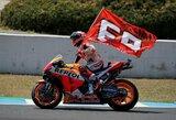 Ispanijos GP lenktynės: kvalifikacijos laimėtojo agonija ir M.Marquezo triumfas