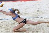 Antrosios lietuvių nesėkmės Europos jaunių paplūdimio tinklinio čempionate