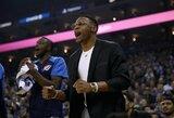 R.Westbrookas ruošiasi sugrįžti į aikštę