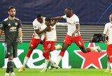 """Čempionų lyga: """"Man Utd"""" nugalėjęs """"RB Leipzig"""" iškovojo bilietą į atkrintamąsias kovas"""