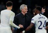 """J.Mourinho sugrįžimas į Čempionų lygą: 2 įvarčių deficitą panaikinęs """"Tottenham"""" šventė pergalę, """"Man City"""" nesugebėjo įveikti """"Shakhtar"""""""