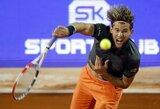 D.Thiemas pagal naująjį teniso formatą nutraukė S.Tsitsipo pergalių seriją