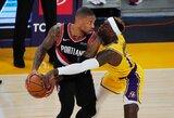 """""""Lakers"""" namuose pripažino """"Trail Blazers"""" pranašumą"""