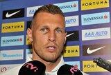 """Vienas labiausiai patyrusių Slovakijos futbolininkų: """"Tikiuosi tokio paties žaidimo iš abiejų rinktinių"""""""