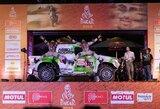 Pamatykite: lietuviai šėlo Dakaro podiume