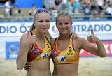 I.Dumbauskaitė ir M.Povilaitytė puikia pergale pradėjo Europos čempionatą
