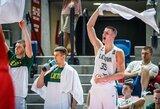 Galingas dvidešimtmečių startas Europos čempionate: lietuviai nušlavė Lenkijos bendraamžius