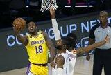 """""""Lakers"""" gynėjas žiedą gautų ir komandos pralaimėjimo atveju"""