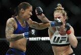 Išnagrinėta H.Holm apeliacija dėl skandalingo pralaimėjimo titulinėje UFC kovoje